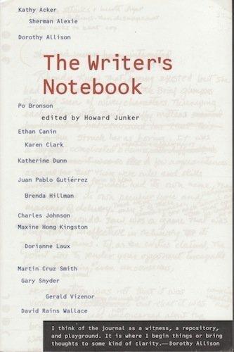The Writer's Notebook: Junker, Howard
