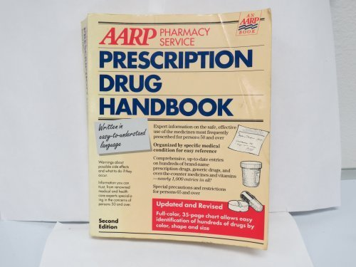 9780062635013: AARP Prescription Drug Handbook