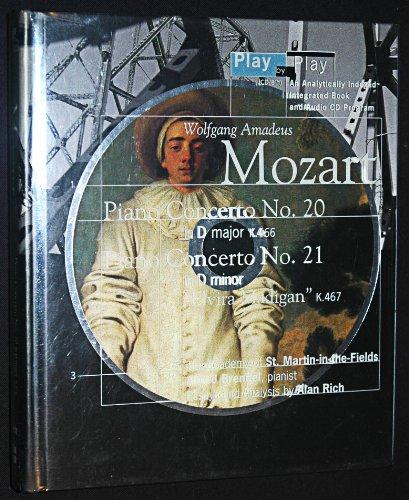 9780062635488: Wolfgang Amadeus Mozart: Play by Play/Piano Concerto, No 20 in d Minor K466 : Piano Concerto, No 21 in C Major :