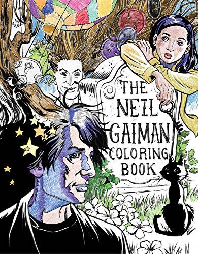 The Neil Gaiman Coloring Book: Coloring Book: Gaiman, Neil