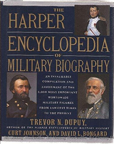 9780062700155: The Harper Encyclopedia of Military Biography