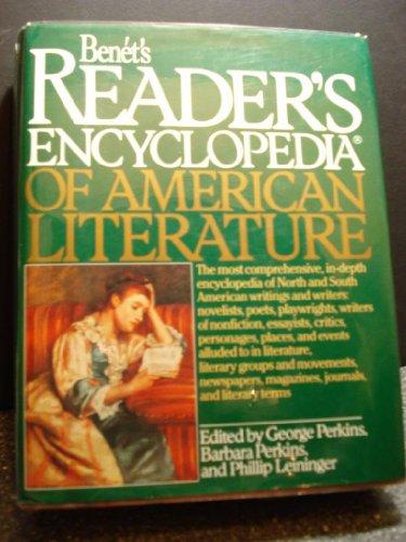 9780062700278: Benet's Reader's Encyclopedia of American Literature
