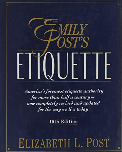 9780062700285: Emily Post's Etiquette: Thumb-indexed Edition