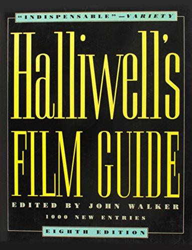 9780062700377: Halliwells Film Guide 8ED