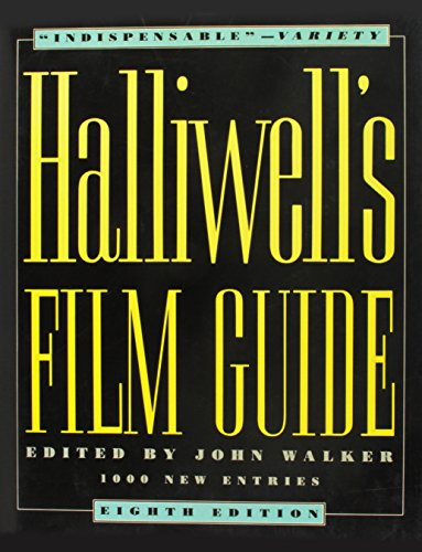 9780062700377: Halliwells Film Guide 8ED