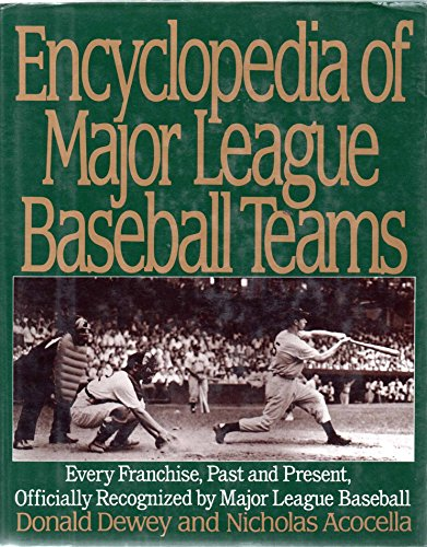 9780062700490: Encyclopedia of Major League Baseball Teams
