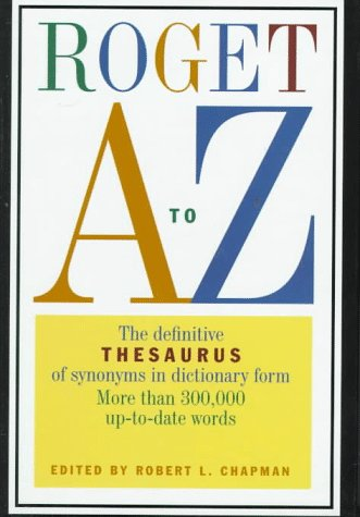 9780062700582: Roget A to Z