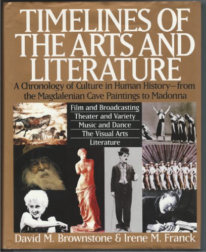 9780062700698: Timelines of the Arts and Literature