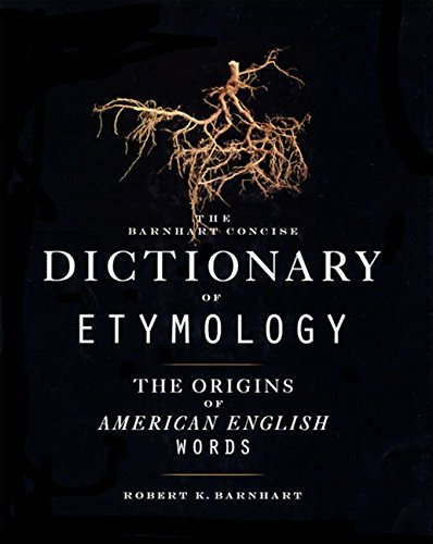 9780062700841: Barnhart Concise Dictionary of Etymology
