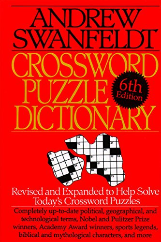 9780062700902: Crossword Puzzle Dictionary: Sixth Edition: Revised and Expanded to Help Solve Today's Crossword Puzzles