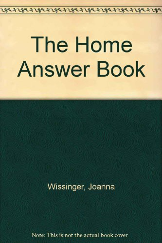 9780062701039: The Home Answer Book