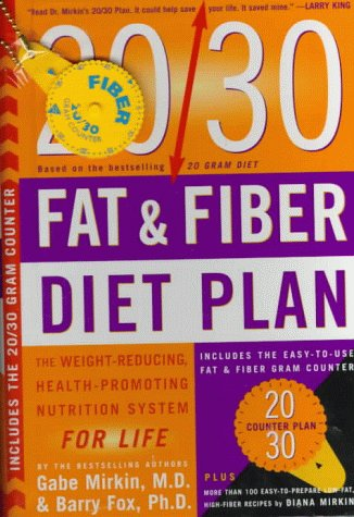 9780062702326: 20/30 Fat & Fiber Diet Plan