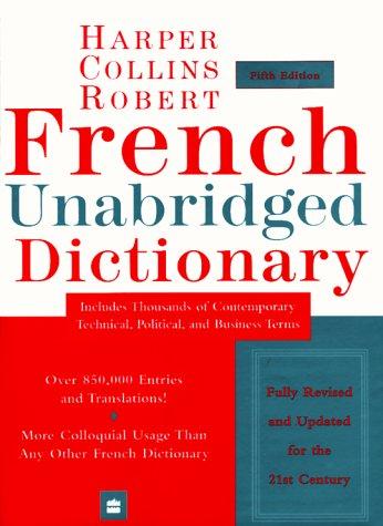 9780062708168: Harper Collins-Robert French Unabridged Dictionary