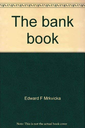9780062715203: The bank book