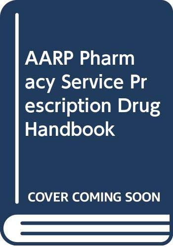 9780062715531: AARP pharmacy service prescription drug handbook