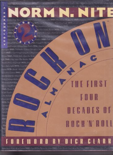 9780062715555: Rock on almanac: The first four decades of rock 'n' roll : a chronology