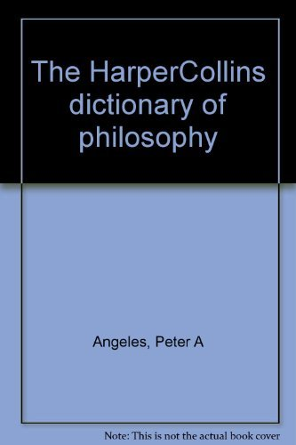 9780062715647: HarperCollins Dictionary of Philosophy