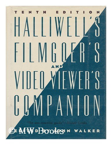 9780062715708: Halliwell's Filmgoer's and Video Viewer's Companion