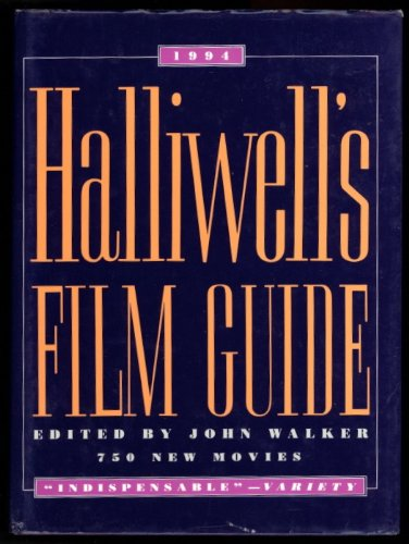9780062715739: Halliwell's Film Guide 1994