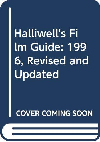 9780062716019: Halliwell's Film Guide: 1996, Revised and Updated (Halliwell, Leslie//Halliwell's Film Guide)