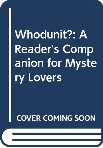 9780062716040: Whodunit?: A Reader's Companion for Mystery Lovers