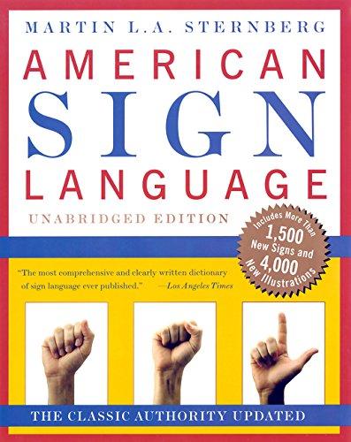 American Sign Language (Paperback): Martin L.A. Sternberg