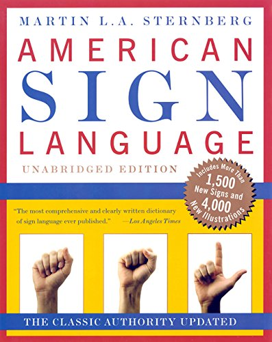 9780062716088: American Sign Language