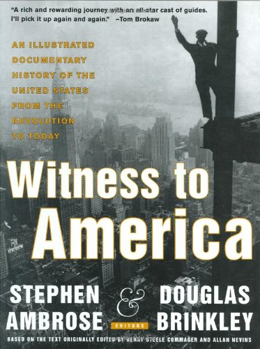 9780062716118: Witness to America: An Illustrated Documentary History of the United States from the Revolution to Today