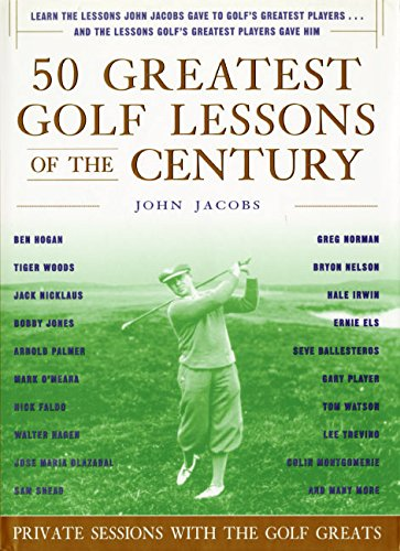 9780062716149: 50 Greatest Golf Lessons of the Century: Private Sessions with the Golf Greats
