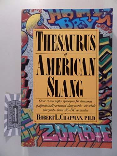 9780062720108: Thesaurus of American Slang