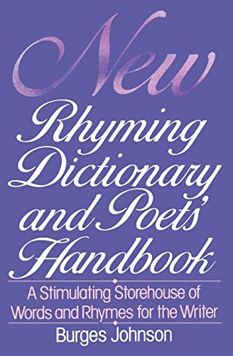 9780062720146: New Rhyming Dictionary and Poets' Handbook