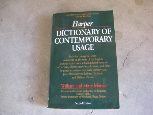9780062720214: Harper Dictionary of Contemporary Usage