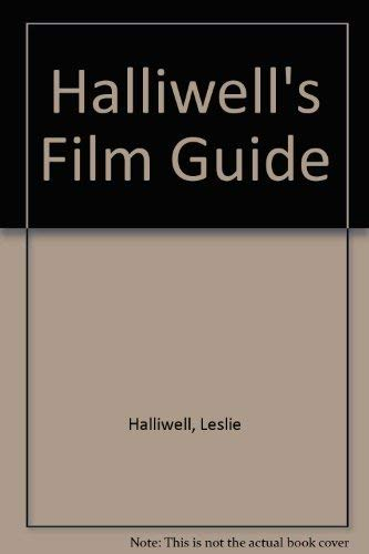 9780062720320: Halliwells Film Guide 8ED