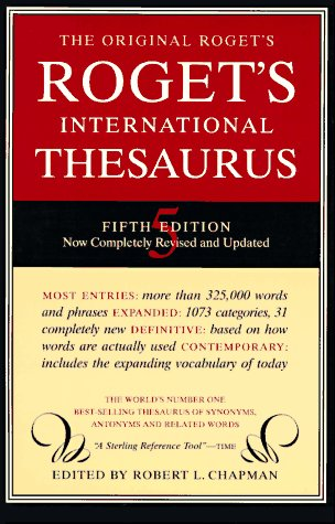 9780062720375: Roget's International Thesaurus