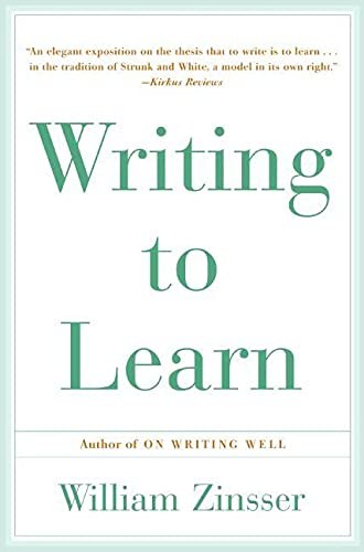 9780062720405: Writing To Learn