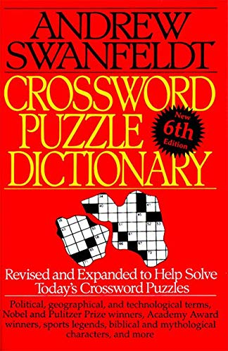 9780062720535: Crossword Puzzle Dictionary: Sixth Edition