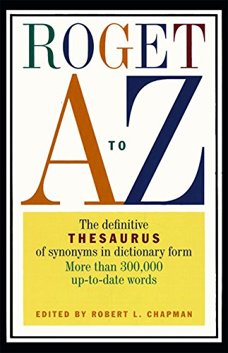 9780062720597: Roget A to Z