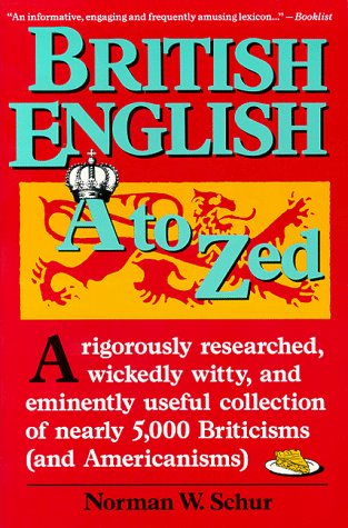 9780062725011: British English A to Zed