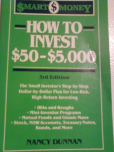 9780062730046: How to invest $50-$5,000