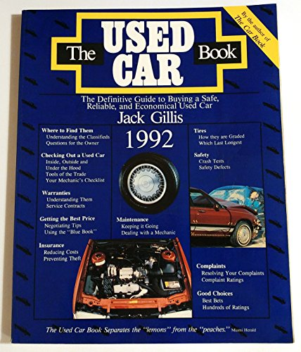 9780062730107: The Used Car Book 1992