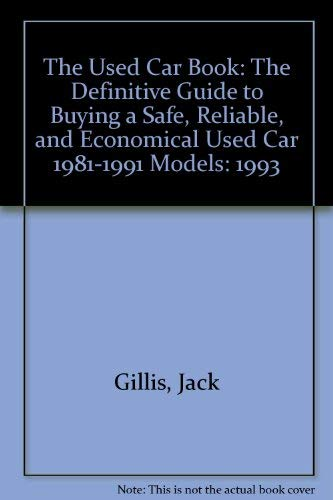 9780062730114: The Used Car Book 1993