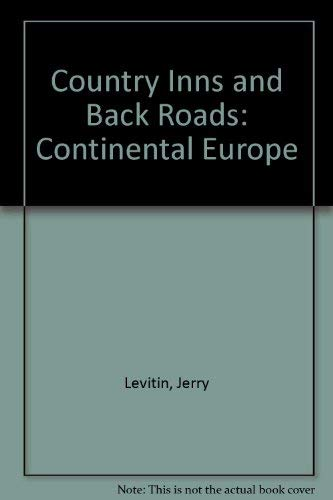 9780062730343: Country Inns and Back Roads: Continental Europe