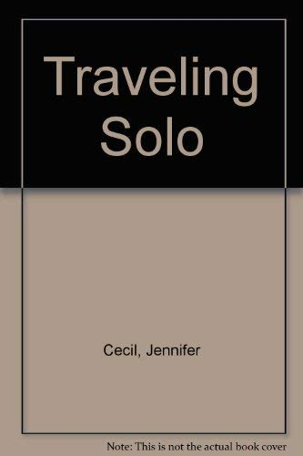 9780062730398: Traveling Solo