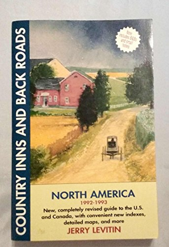 9780062731487: Country Inns and Back Roads North America (Country inns & back roads)