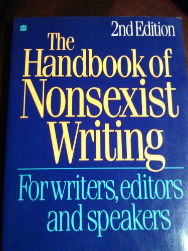 9780062731739: The Handbook of Nonsexist Writing