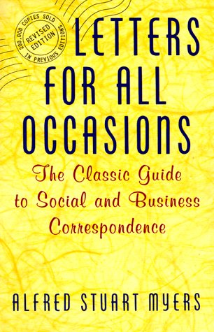 9780062731777: Letters for All Occasions: The Classic Guide to Social and Business Correspondence