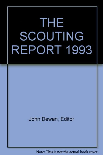 9780062731920: THE SCOUTING REPORT 1993