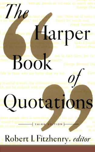 9780062732132: The Harper Book of Quotations 3rd Edition