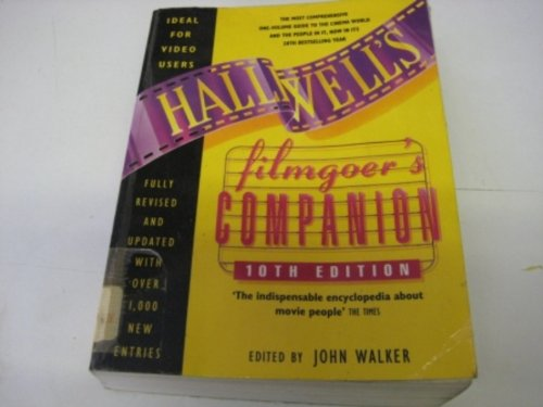 9780062732392: Halliwells Filmgoers Companion (Halliwell's Who's Who in the Movies)