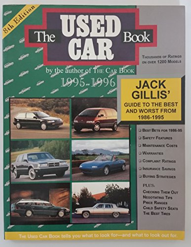 Used Car Book 1995-96 (Used Car Book (Jack Gillis)) (9780062732835) by Jack Gillis